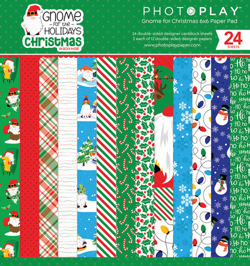 PhotoPlay Ghome for Christmas 6x6 Paper Pad