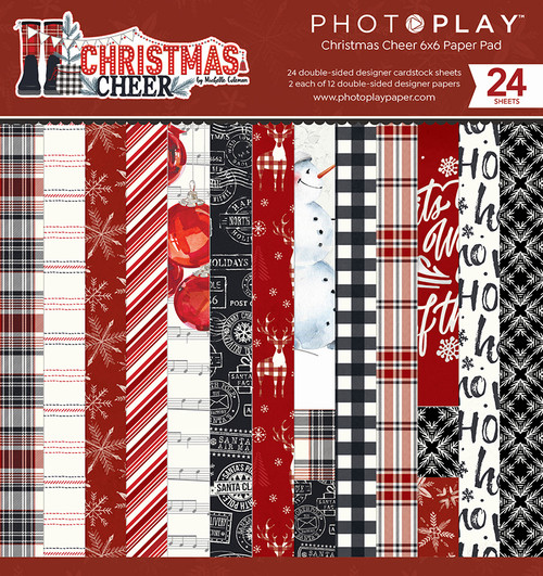 PhotoPlay Christmas Cheer 6x6 Paper Pad
