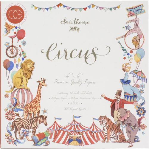 Craft Consortium 6x6 Paper Pad Premium Collection: Circus