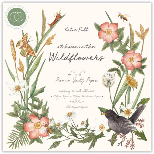 Craft Consortium 6x6 Paper Pad Premium Collection: At Home in the Wildflowers
