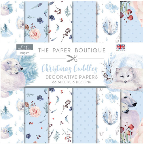 The Paper Boutique 6x6 Paper Pad: Christmas Cuddles