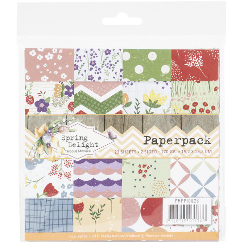 Find-It Media 6x6 Paper Pad: Spring Delight