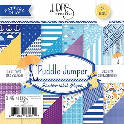 LDRS Creative 6x6 Paper Pad: Puddle Jumper