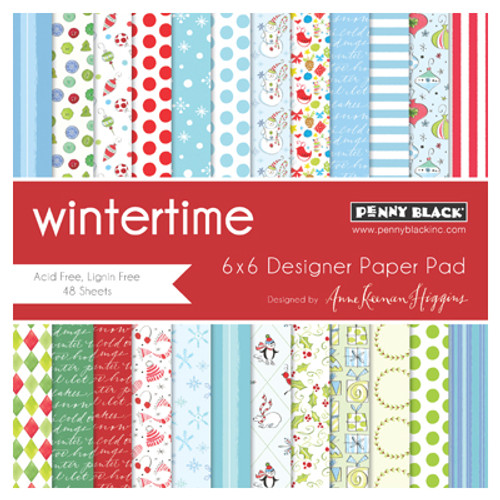 Penny Black 6x6 Paper Pad: Wintertime