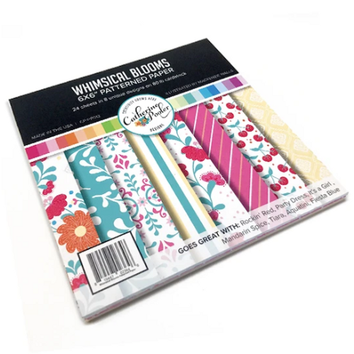 Catherine Pooler Designs 6x6 Paper Pad: Whimsical Blooms