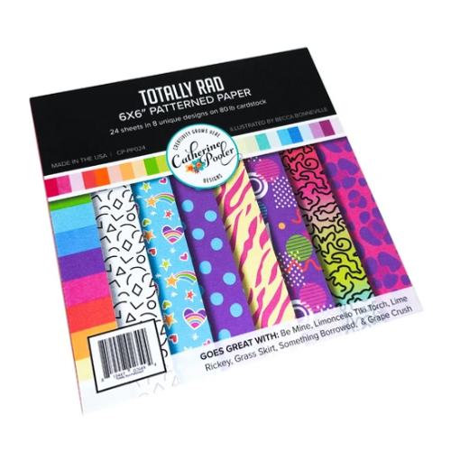 Catherine Pooler Designs 6x6 Paper Pad: Totally Rad
