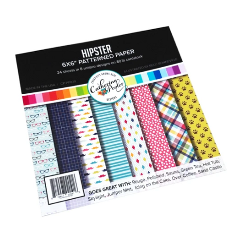 Catherine Pooler Designs 6x6 Paper Pad: Hipster