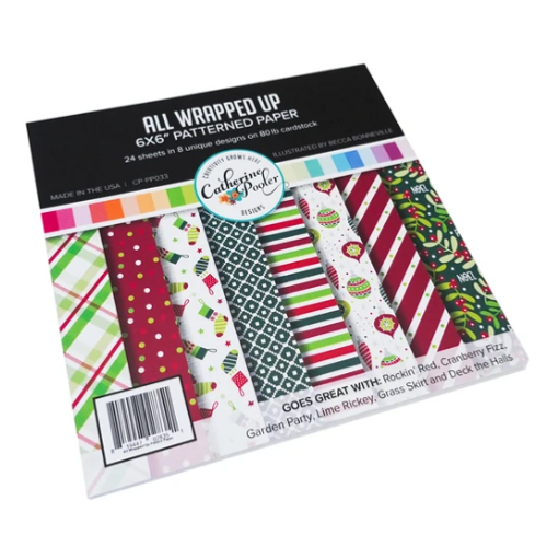 Catherine Pooler Designs 6x6 Paper Pad: All Wrapped Up