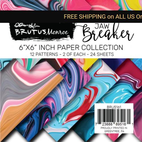 Brutus Monroe 6x6 Paper Pad: Jawbreaker