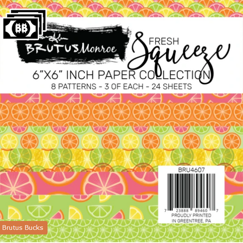 Brutus Monroe 6x6 Paper Pad: Fresh Squeeze