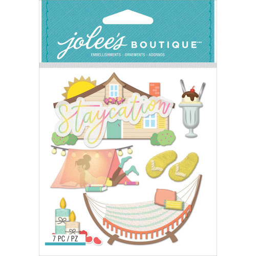Jolee's Boutique Dimensional Stickers: Staycation