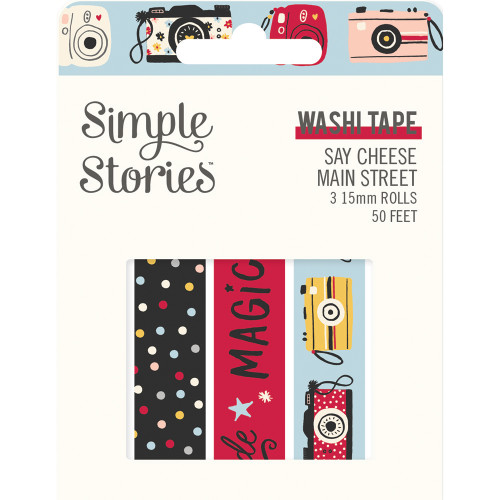 Say Cheese Main Street Washi Tape
