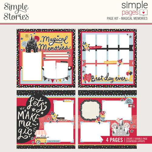 Say Cheese Main Street Simple Pages Page Kit: Magical Memories