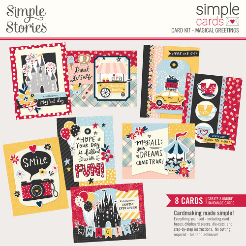 Say Cheese Main Street Simple Cards Card Kit: Magical Greetings
