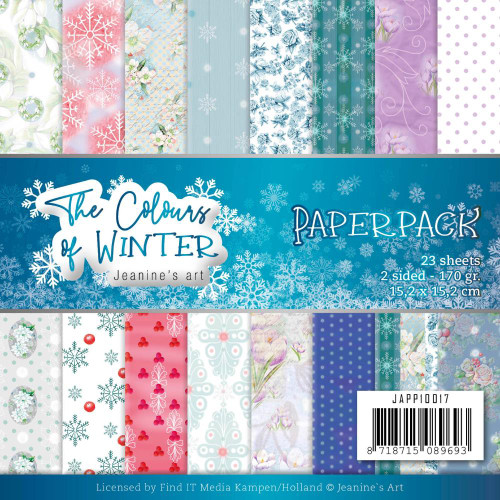 Find-It Media 6x6 Paper Pad: The Colours of Winter