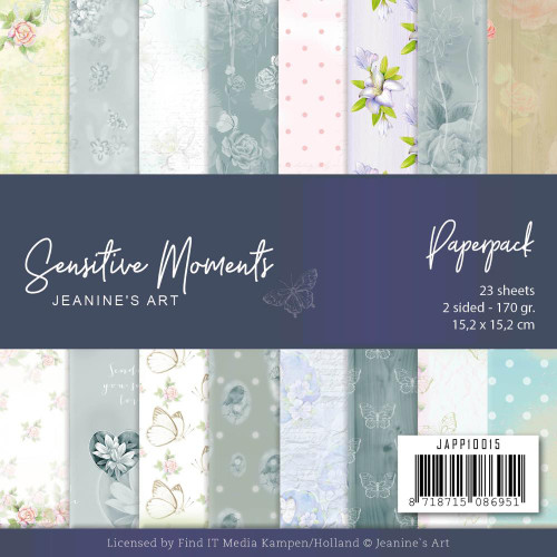 Find-It Media 6x6 Paper Pad: Sensitive Moments