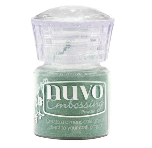 Nuvo Embossing Powder: Pearled Pistachio