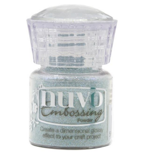 Nuvo Embossing Powder: Snow Crystal