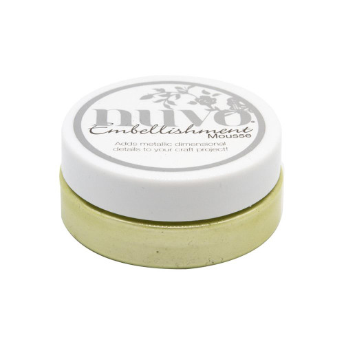Nuvo Embellishment Mousse: Mint Tea