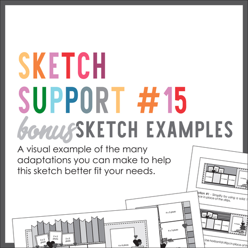 * DIGITAL DOWNLOAD * Allison Davis for SG | Sketch Support Bonus Sketch Examples #15