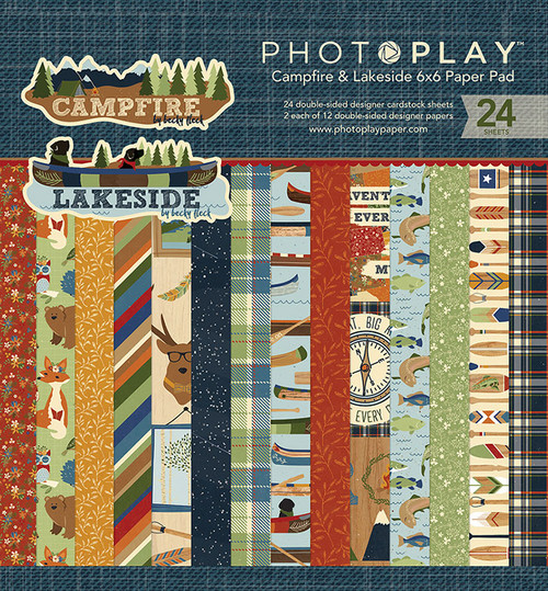 PhotoPlay 6x6 Paper Pad: Campfire & Lakeside Combo