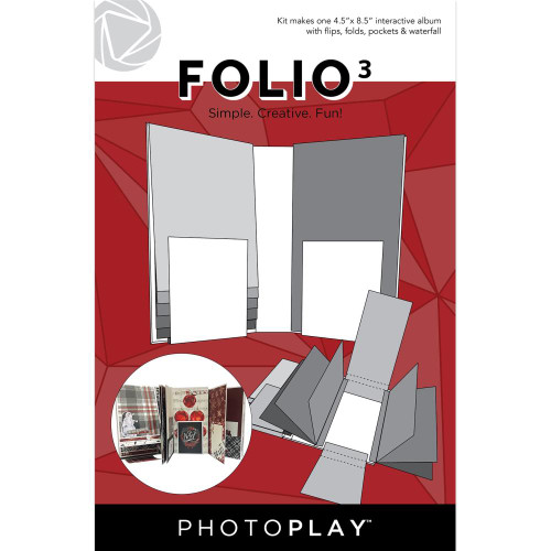 "PhotoPlay Maker's Series Creation Bases | Folio 3 - 4.5""x8.5"""
