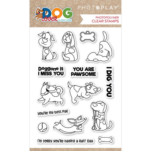 PhotoPlay Dog Lover Stamp