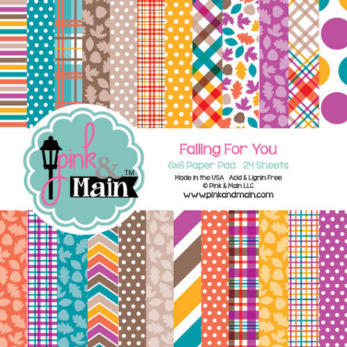 Pink & Main 6x6 Paper Pad: Falling For You