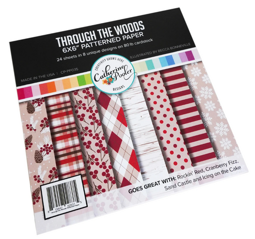 Catherine Pooler Designs 6x6 Paper Pad: Through the Woods