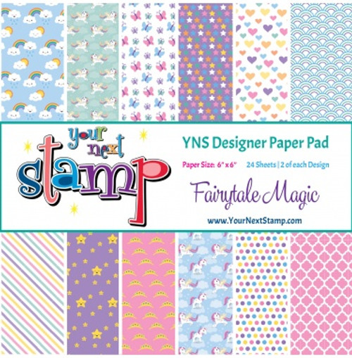 YNS Designer 6x6 Paper Pad: Fairytale Magic