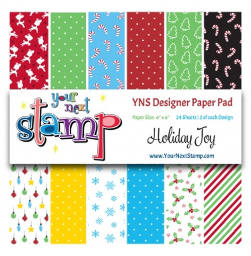 YNS Designer 6x6 Paper Pad: Holiday Joy