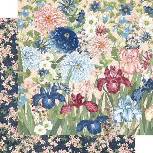 Graphic 45 Blossom 12x12 Paper: Enchant