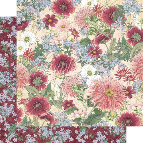 Graphic 45 Blossom 12x12 Paper: Flourish