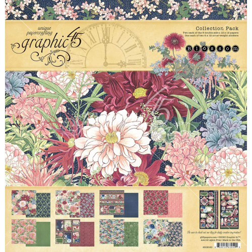 Graphic 45 Blossom 12x12 Collection Pack