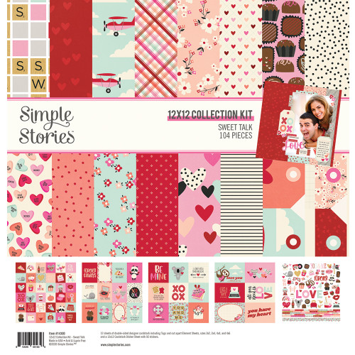 Simple Stories Sweet Talk Collection Kit