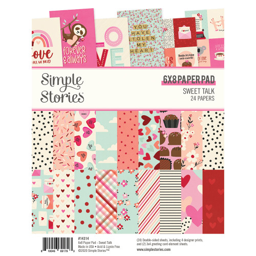 Simple Stories Sweet Talk 6x8 Pad