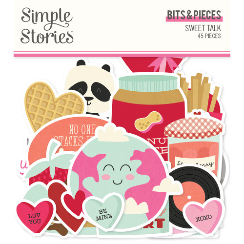 Simple Stories Sweet Talk Bits & Pieces