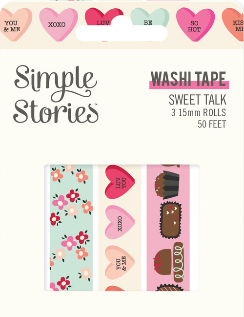 Simple Stories Sweet Talk Washi Tape