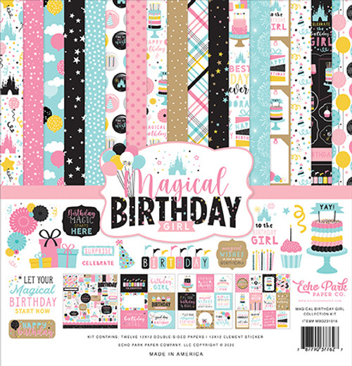 Echo Park Magical Birthday Girl Collection Kit