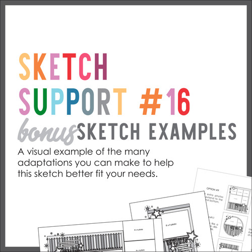 * DIGITAL DOWNLOAD * Allison Davis for SG | Sketch Support Bonus Sketch Examples #16