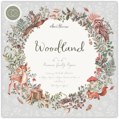 Craft Consortium 6x6 Paper Pad: Woodland