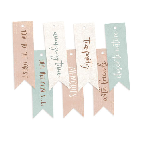 P13 Forest Tea Party Decorative Tags: Set 2