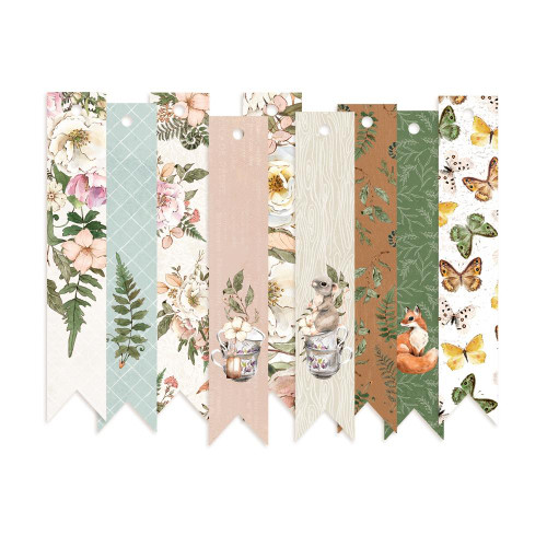 P13 Forest Tea Party Decorative Tags: Set 3