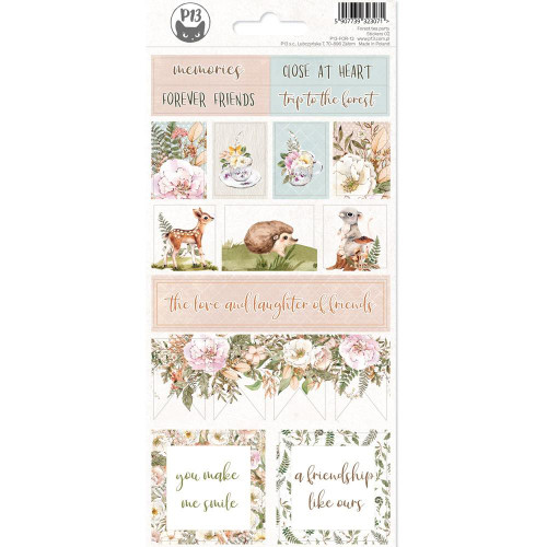 P13 Forest Tea Party Stickers: 02