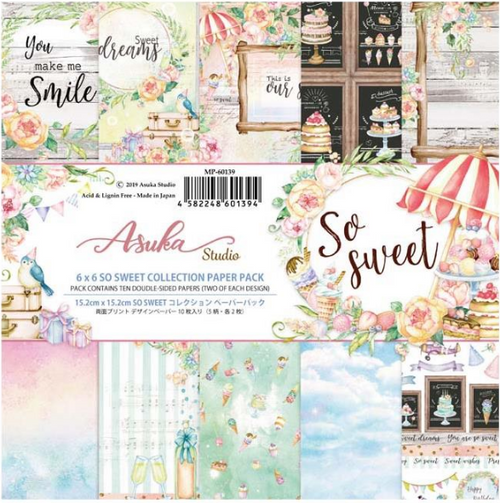 Asuka Studio 6x6 Paper Pad: So Sweet