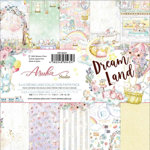 Asuka Studio 6x6 Paper Pad: Dream Land