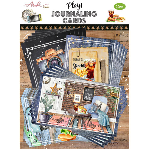 Asuka Studio Journaling Cards: Play
