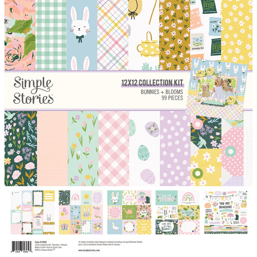 Simple Stories Bunnies + Blooms Collection Kit