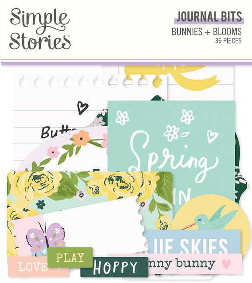 Simple Stories Bunnies + Blooms Journal Bits