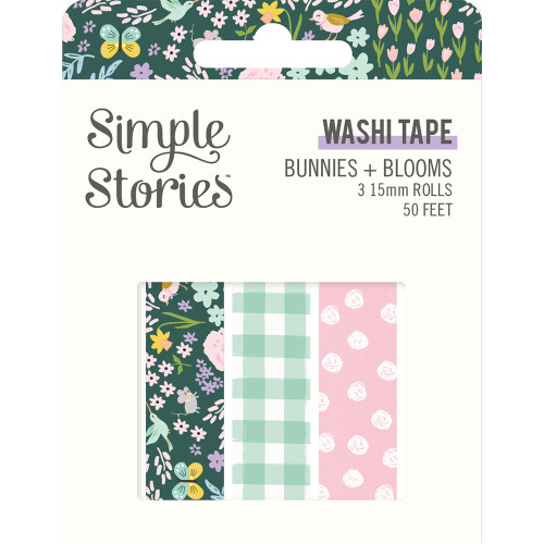 Simple Stories Bunnies + Blooms Washi Tape